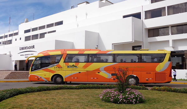 Bus Puno – Arequipa with tourist stops <span>½D</span>